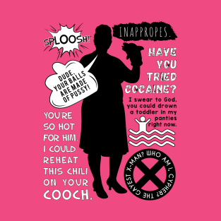 Pam Poovey Quotes t-shirts