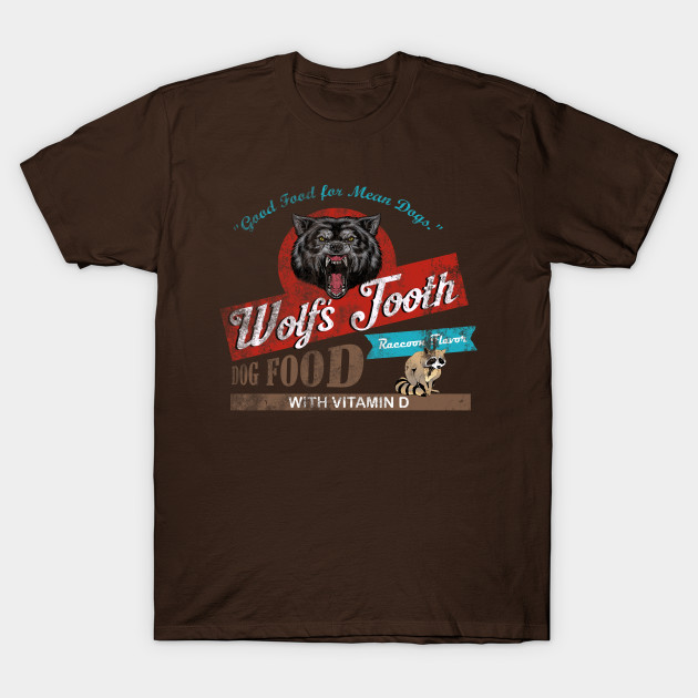 Wolf's Tooth Dog Food, distressed