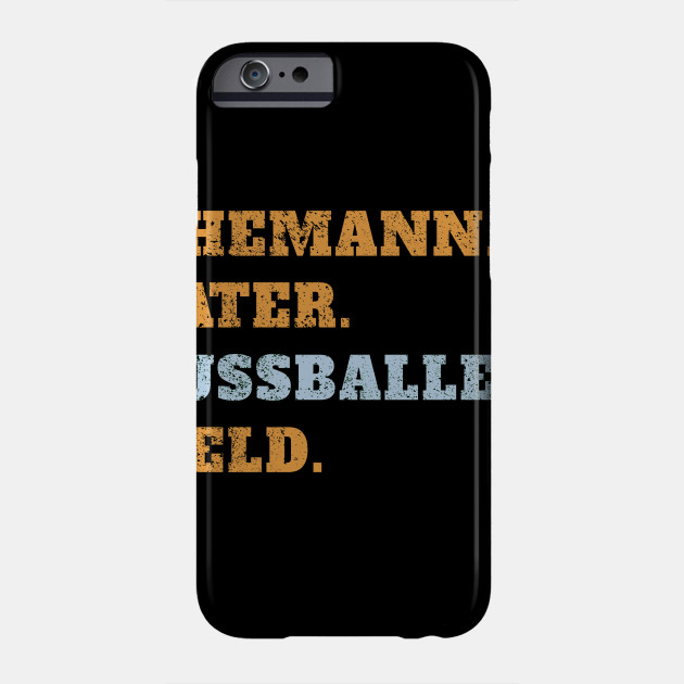 Husband father footballer hero father's day man Phone Case