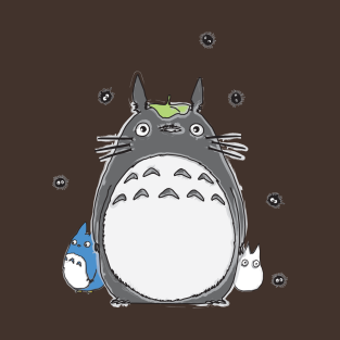 Will you be my neighbor Totoro? t-shirts
