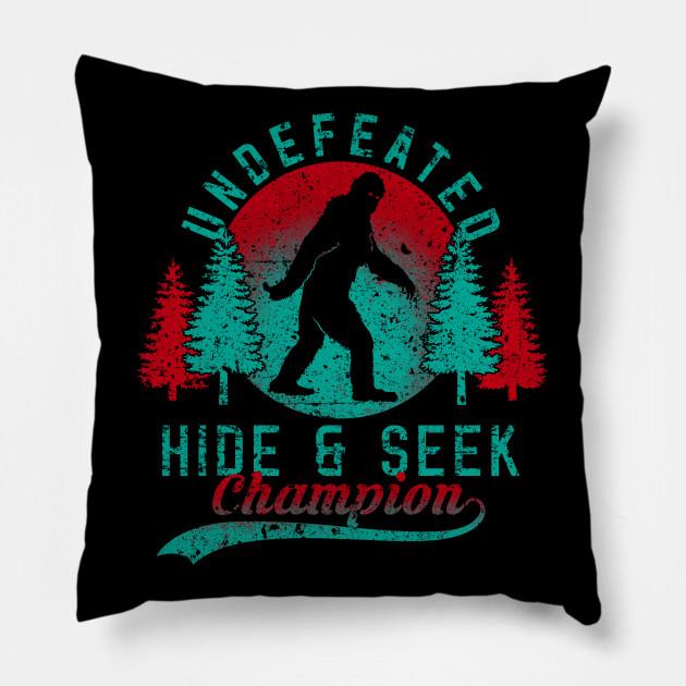 Hide and Seek World Champion Retro Vintage Bigfoot