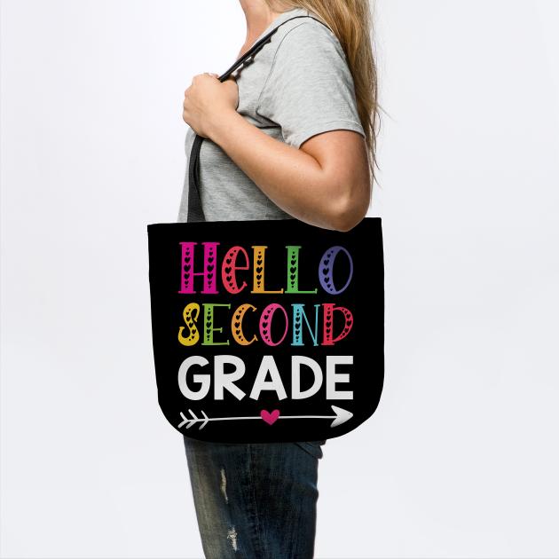 Hello Second Grade Shirt, 2nd Grade Shirt, Teacher Shirt, Second Grade Shirt, 2nd Grade Teacher, School Teacher, Teaching Tee, Teacher Team