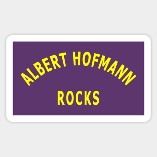 """Mushroom DMT decal for bong. 4.75/"""" Albert Hofmann Discovers LSD vinyl sticker"""
