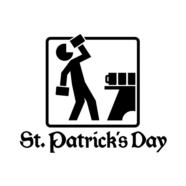 St. Patrick's Day 1 (black)
