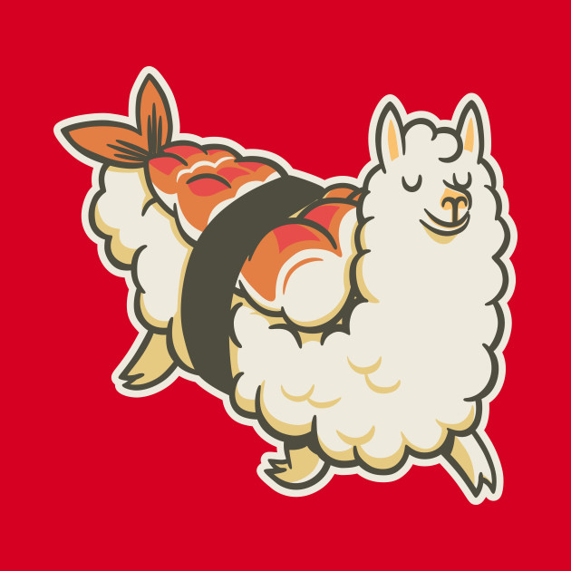 Alpaca Sushi Niguiri I