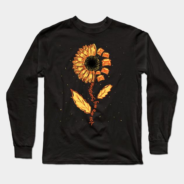 sunflower jeep - Jeep - Long Sleeve T-Shirt   TeePublic