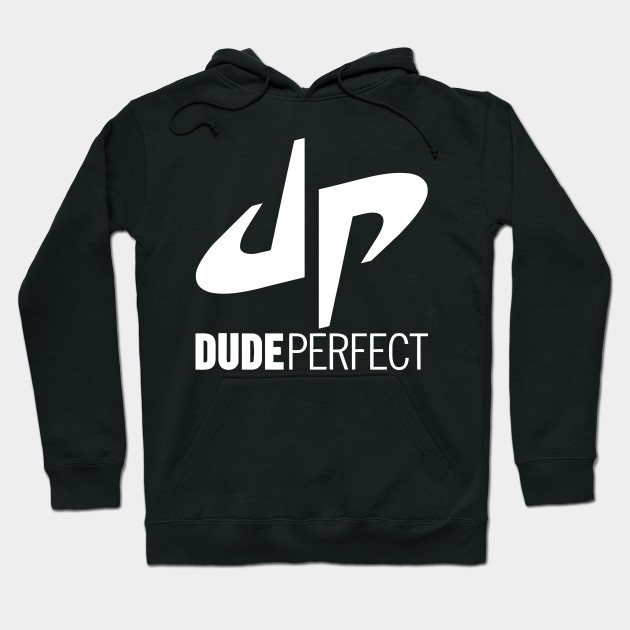 channels of dude perfect white Hoodie