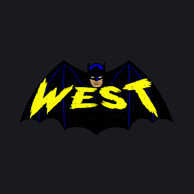 Adam West Bat Logo
