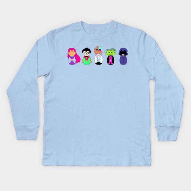 3dadaf7a Teen Titans Go! Kokeshi