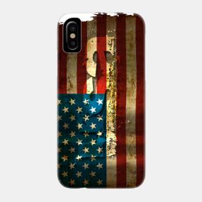 USA / Grunged Flag...