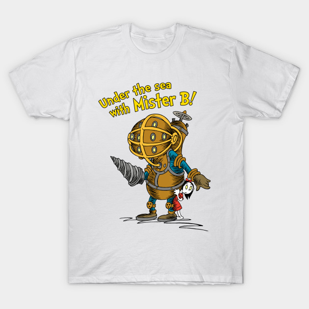 Under The Sea With Mister B! T-Shirt-TOZ