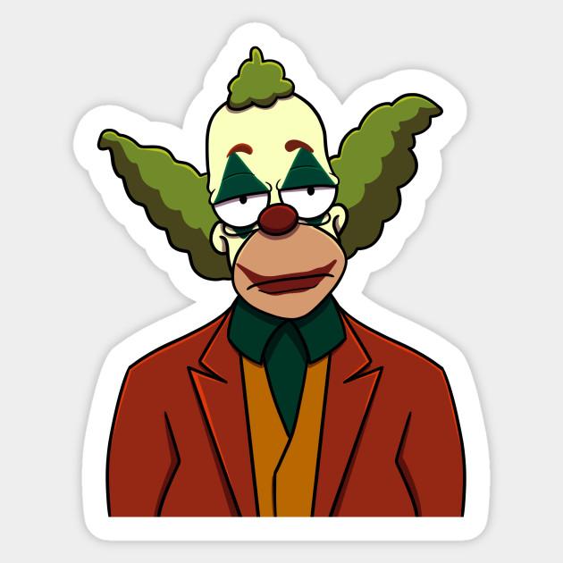 Bring In The Clowns The Joker Sticker Teepublic