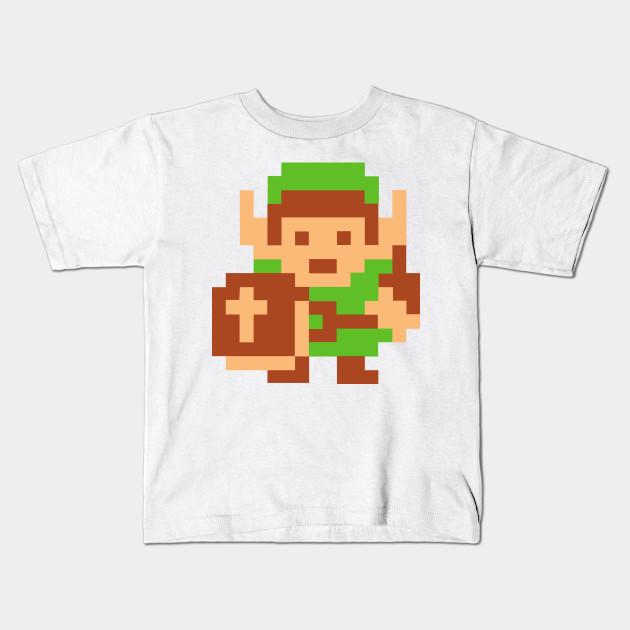 Zelda Video Game 8 Bit NES T Shirt