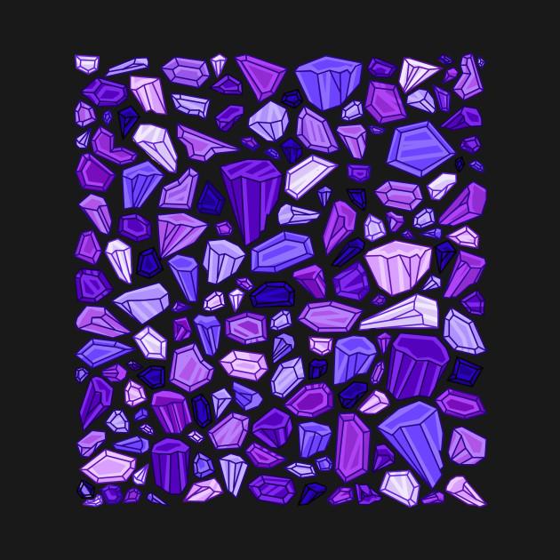 Crystals pattern
