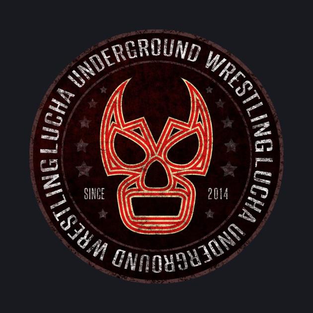 Lucha Underground - Badge - Red