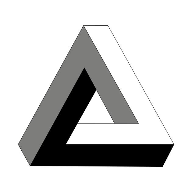 Triangle Logo Tattoo