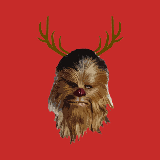 Chewdolph the Red Nosed Wookiee