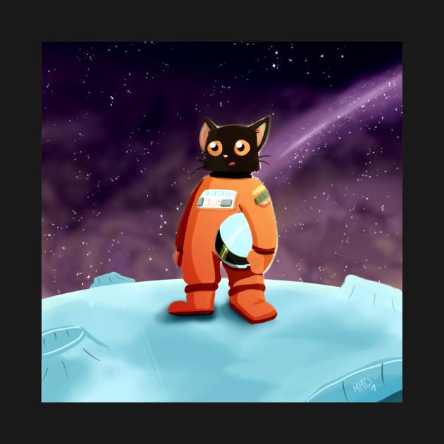 Ground Control to Major Tom Cat (Square Image)