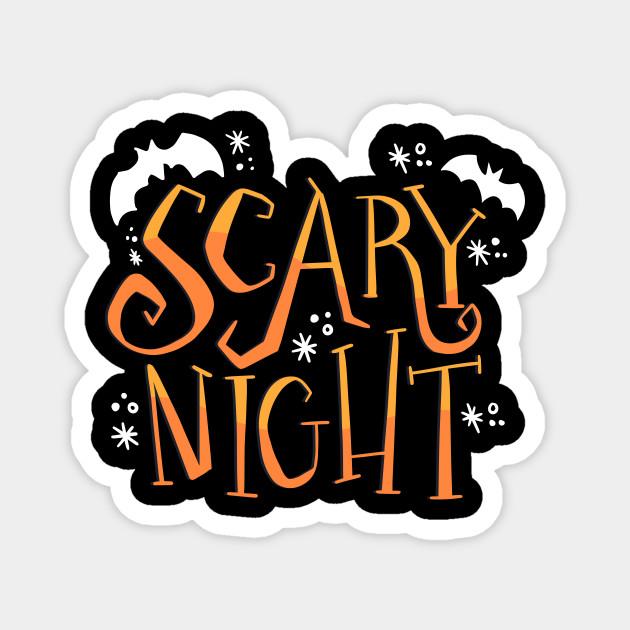 Scary Night Halloween T-shirt