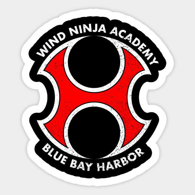 Wind Ninja Academy Power Rangers Ninja Storm Sticker Teepublic
