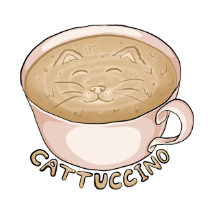 Cattuccino t-shirts