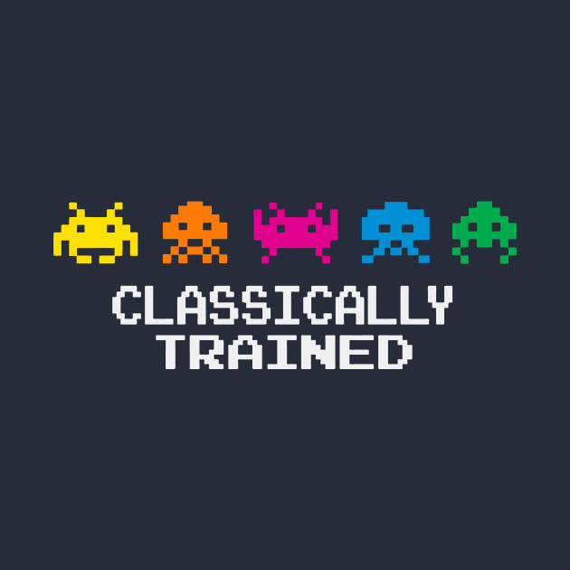 Space Invaders Classically Trained