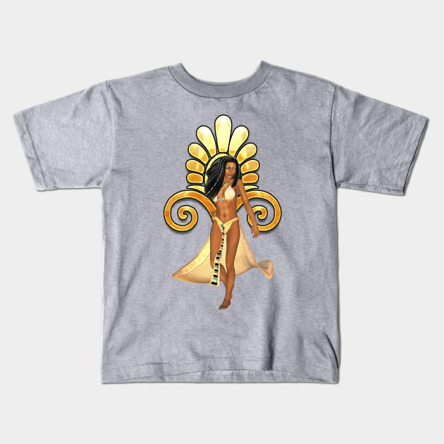 Egyptian Women Women Female Fantasy Egyptian Sign Symbol Kids T