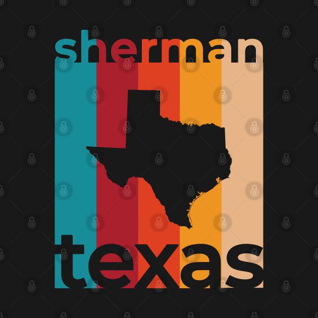 Sherman Texas Retro
