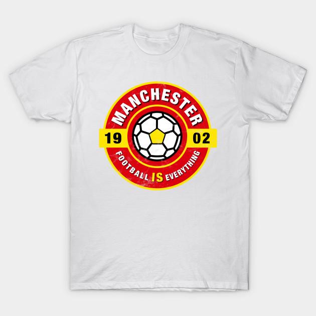 best website 6f8d4 1fde2 Football Is Everything - Manchester United Retro - T-Shirt by  eternalentrepreneur