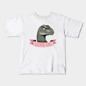 Clever Girl kids-t-shirt