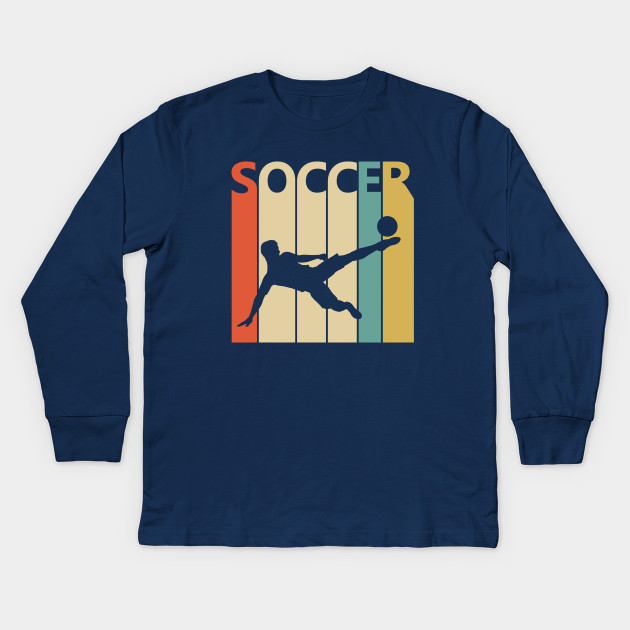 Vintage Retro Soccer Player Gift
