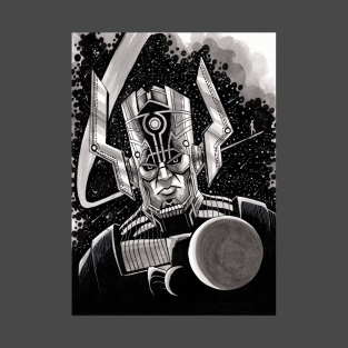 Galactus - Inktober Drawing t-shirts