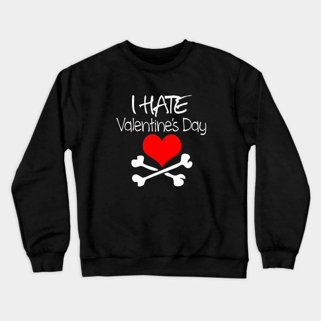I Hate People Hoodie Anti People Social Tee Shirt Valentines Gift Womens Funny