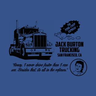 Jack Burton trucking t-shirts