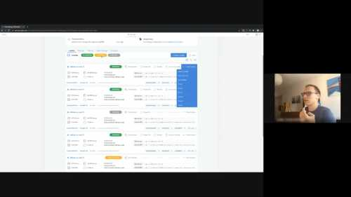 A thumbnail of a Cloud Manager usability test