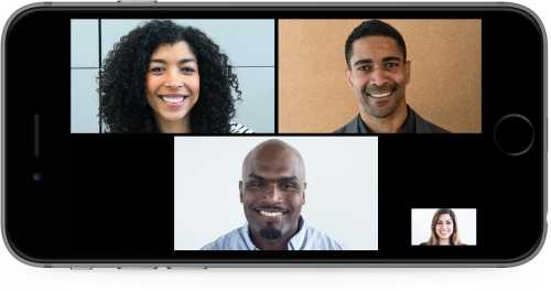 A screenshot of VidyoConnect Mobile