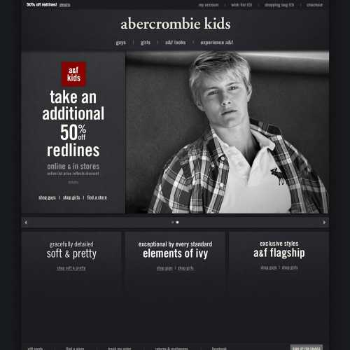 abercrombie kids home page