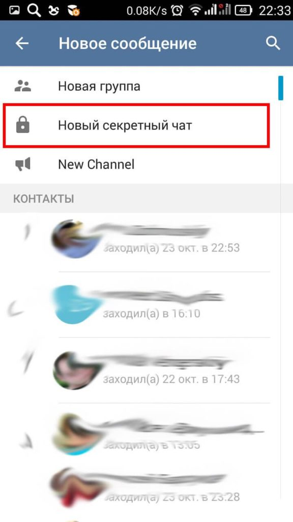 Чат Телеграм
