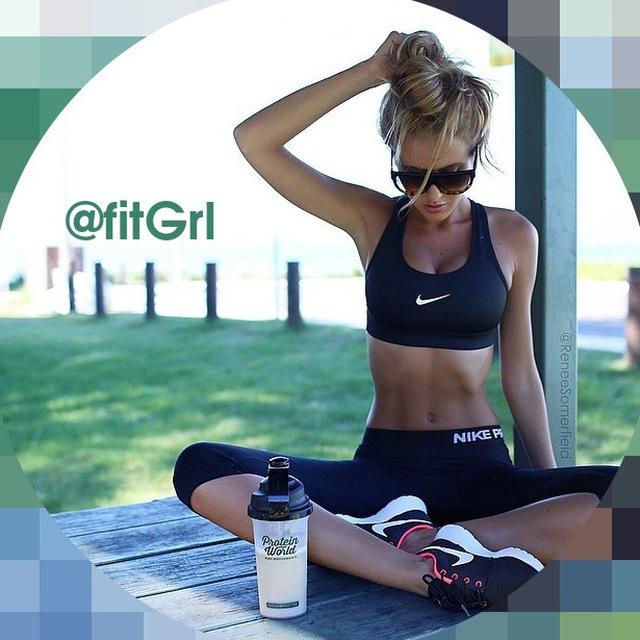 Телеграмм канал «Fit Girls»