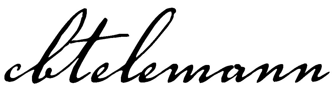 CB Telemann logotext