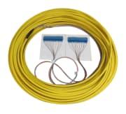 Konnektert kabel SM, 24 fiber, G-652D SC/UPC-konn. 10m