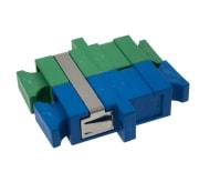 Adapter SM SC/UPC+SC/APC duplex  plast hus