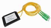 CWDM SM 2 kanaler SC/APC konnektorer 3mm pigtail ABS boks