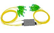 CCWDM 8ch +1310 SC/APC conn. 0,9mm pigtail 0,5m