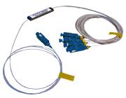 Splitter PLC 1x4 SC/UPC 900µm Mikrotype