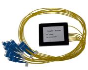 Splitter SM SC/UPC 1x8 PLC, ABS box kassett type