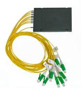 Splitter SM LC/APC 1x8 PLC kassett type