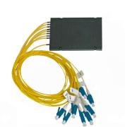 Splitter SM LC/UPC 1x8 PLC-ABS box kassett type