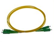 Utgår Fibersnor SM SC/APC-SC/APC duplex 3m minibend