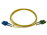 Fibersnor SC/APC-SC/UPC Duplex 10m G.657.A2/B2